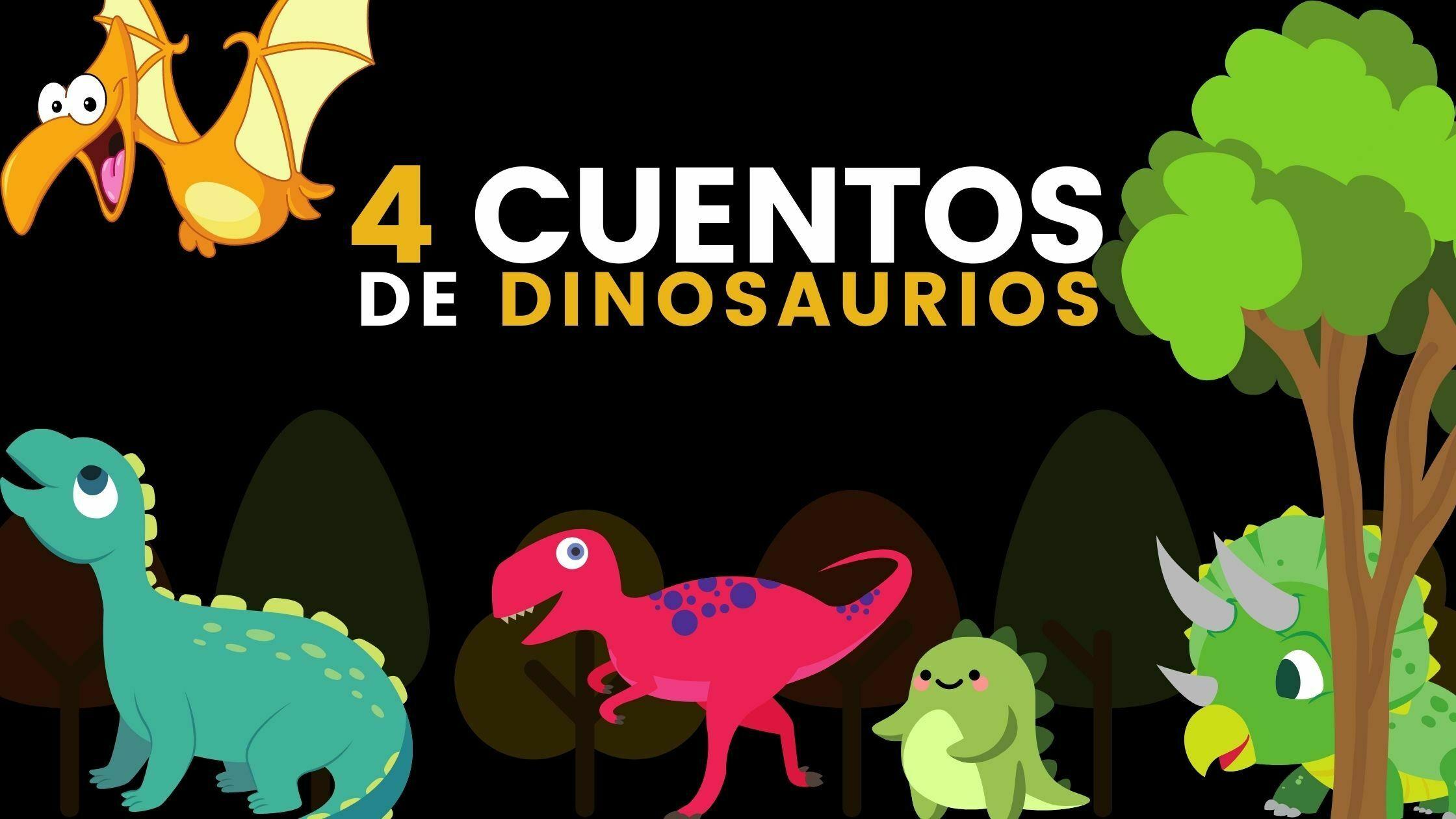Cuentos cortos para niños de dinosaurios en español